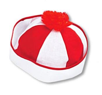 Bobby Sailor Hat Red-white