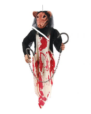 Butcher Pig Hanging Figure
