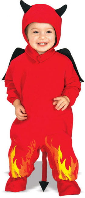 Mini Devil Toddler Costume