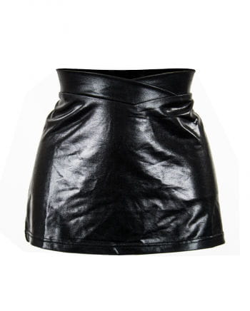 Miniskirt imitation leather Gr.XL