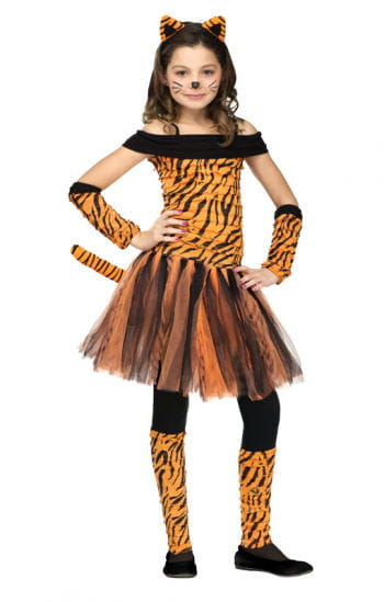 Miss Tiger Child Costume