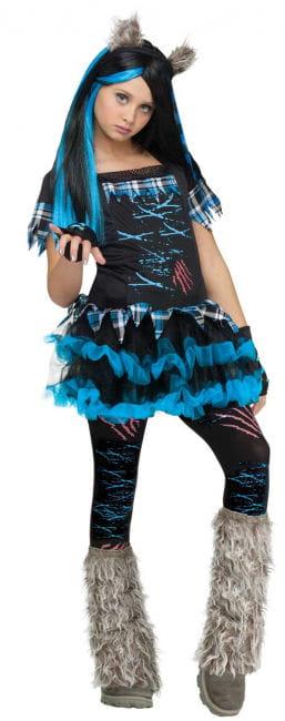 Miss Wolf Child Costume
