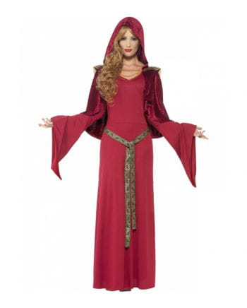 Middle Ages Priestess costume with hood