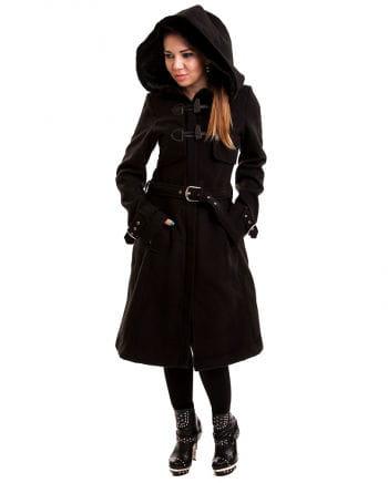 Moana Gothic Coat Black