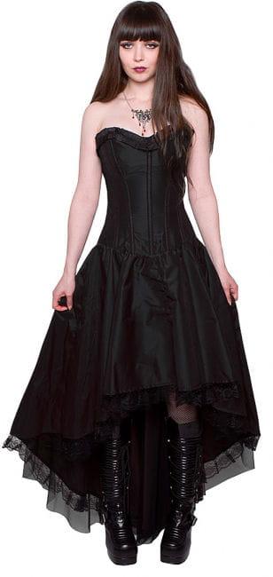 Monroe Corsagenkleid schwarz
