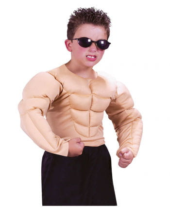 Muscle Man Child Costume L