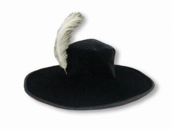 Musketeer Hat with Feather