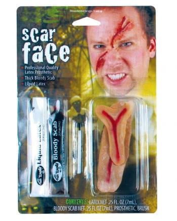 Scarface Make Up Set