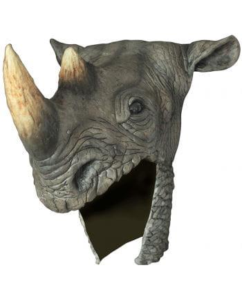 Nashorn Helm aus Latex