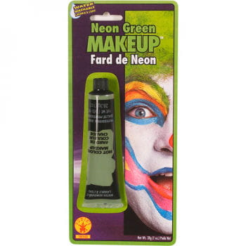 Neon Makeup Green