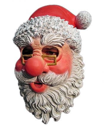Nikolaus Maske mit Brille und Bart