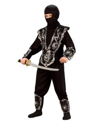 Ninja Kämpfer Kinderkostüm L