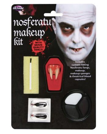 Nosferatu Make Up Kit & Canines