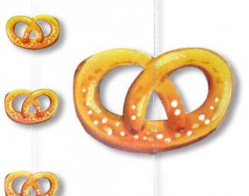 Oktoberfest Brezel Hänge Girlande