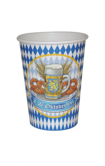 Oktoberfest cardboard cup