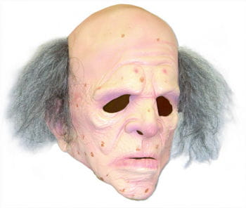 Grandad Mask with Fringe of Hair