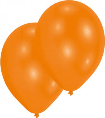 Orange balloons 50 St.