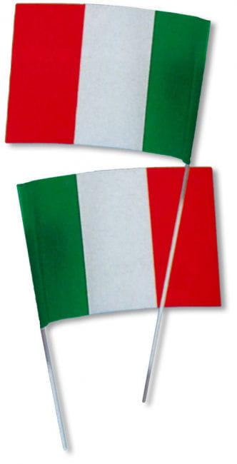 Paper Flag Italy 50 PCS