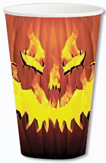 Paper Cups Hot Pumpkin