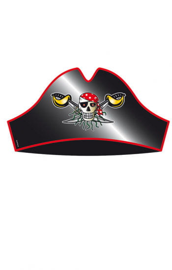 Red Pirate Party Hats