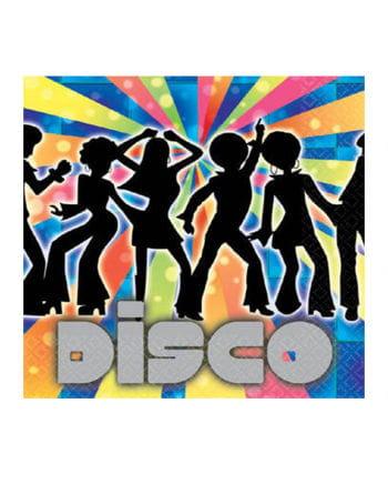 Party Napkins Disco Dancer 16 St.