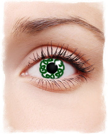 St. Patricks Day contact lenses