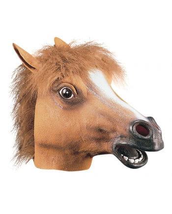 Horses latex mask