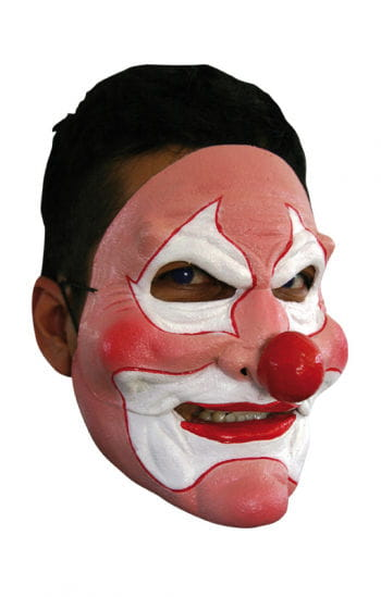 Pink Clown Mask