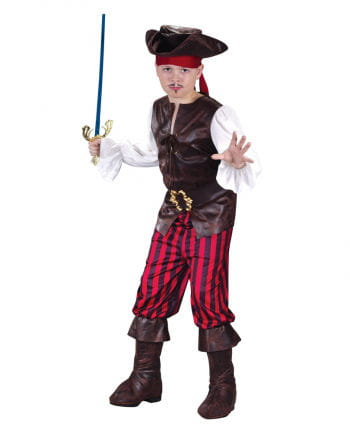 Pirates Deluxe Child Costume. M