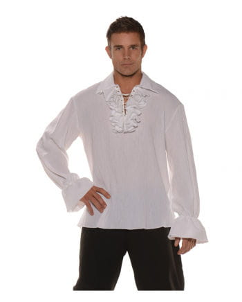 Pirate Shirt With Ruffle & Lacing