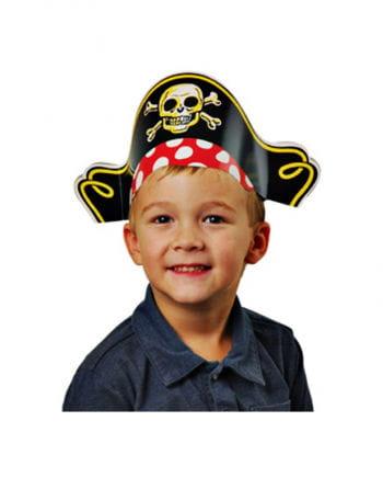Piratenhüte mit Totenkopf 12 St.