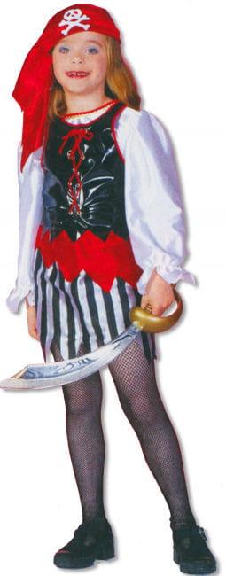 Piratin Kinderkostüm S / 116