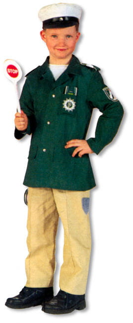 Police Uniform Child Costume