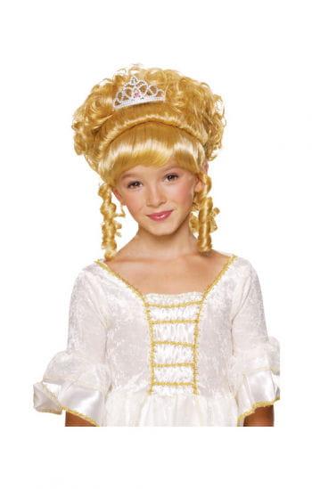 Prinzessin Kinderperücke blond