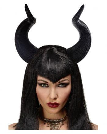Dark Malefiz Fairy Horns