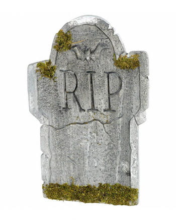 Realistic Tombstone With Moss