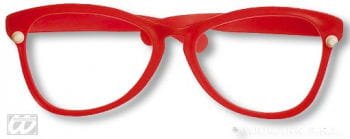 Giant red glasses