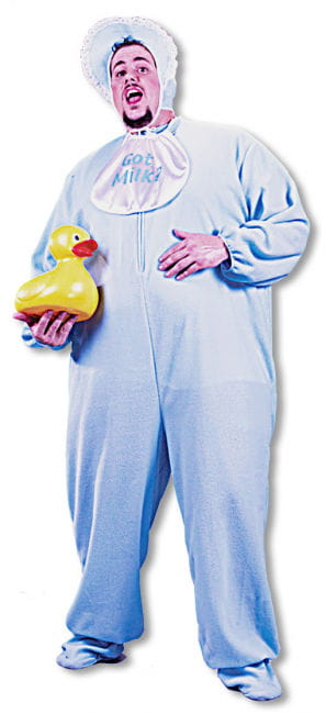 Giant Baby Costume Blue XL