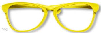 Riesenbrille gelb