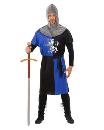 Ritterkostüm blau/schwarz Gr. L