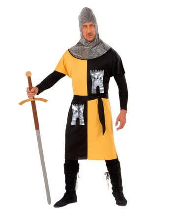Ritterkostüm gelb/schwarz Gr. S
