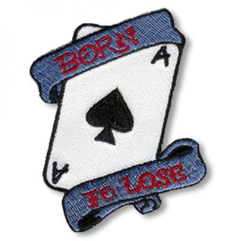 Rockabilly Patch Born to Lose