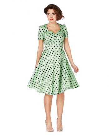 50s polka dot dress