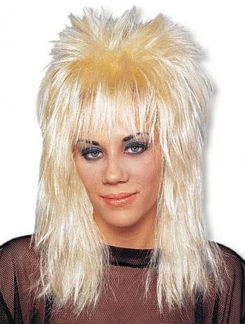 Rocker Perücke blond