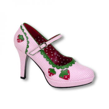 Rosa Erdbeer Schuhe 36 UK 5 US 7