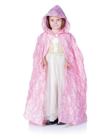 Pink Hooded Cape for Kids