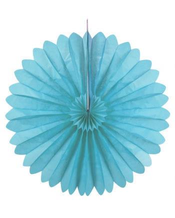 Rosettenfächer hellblau 60 cm