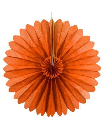 Rosettenfächer orange 60 cm