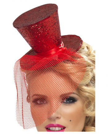 Red Mini Cylinder With Hairline