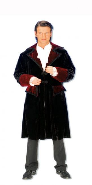Velvet frock coat XL